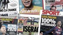 Les médias italiens annoncent l'arrivée d'Erling Braut Håland à la Juve, l'accord entre l'Atlético et Edinson Cavani agite la presse mondiale