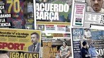 La sortie de Lionel Messi contre la direction du Barça fait grand bruit, Jack Grealish fait scandale en Angleterre
