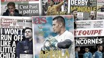 Alphonse Areola fait les gros titres en Espagne, le choc entre l'Inter et la Juve fait saliver toute l'Italie