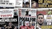 Le fol échange proposé à Manchester United par le Real Madrid pour Paul Pogba, les Bleues font les gros titres en France