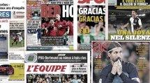 Le Real Madrid perd la tête, Manchester rouge de bonheur