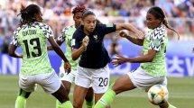 Coupe du Monde : les Bleues s'extirpent du piège nigérian et terminent invaincues !
