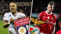 Les compositions probables d'Olympique Lyonnais - Benfica