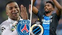 PSG-Bruges : les compos probables