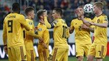 Éliminatoires Euro 2020 : la Belgique se promène en Russie, le Pays de Galles jouera sa qualification contre la Hongrie