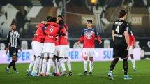 Ligue 1 : le LOSC domine Angers et met la pression sur Rennes