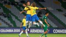 Les U23 brésiliens stars du mercato hivernal