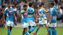 Amical : le Napoli surclasse Liverpool !