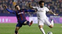 Liga : le Real Madrid chute à Levante et laisse filer le Barça