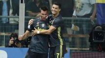 Juventus : Cristiano Ronaldo et Mario Mandzukic font déjà la paire !