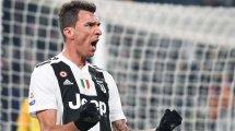 Serie A : la Juventus remporte le choc contre l'AS Roma grâce à Mario Mandzukic