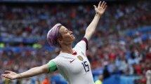 Coupe du monde 2019 (F) : les États-Unis font craquer les Pays-Bas et conservent leur titre !
