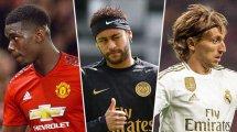Les grands oubliés de la liste des 30 nommés du Ballon d'Or 2019