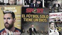 Le Ballon d'Or de Lionel Messi fait beaucoup parler