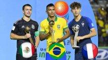 Le onze type de la Coupe du Monde U17