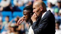 Real Madrid : pourquoi Vinicius Junior ne plaît pas à Zinedine Zidane