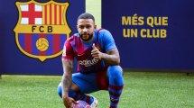 Barça : Memphis Depay réagit à sa première et remercie Antoine Griezmann