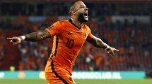 Éliminatoires Mondial 2022 : un phénoménal Memphis Depay entre dans l'histoire des Pays-Bas
