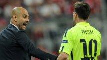 Man City : Pep Guardiola prend position pour l'avenir de Lionel Messi