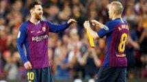 Barça : Andrés Iniesta pleure le départ de Lionel Messi