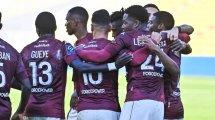 Ligue 1 : Metz retourne Bordeaux et passe cinquième