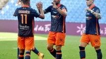 Ligue 1 : victoire spectaculaire de Montpellier sur Strasbourg, Lens enfonce Dijon
