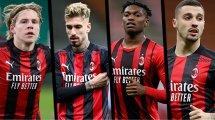 L'AC Milan garde sa porte ouverte pour 4 joueurs