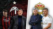 L'axe AC Milan-Real Madrid promet d'animer le mercato