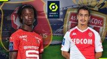 Stade Rennais-AS Monaco : les compositions officielles !
