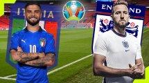 Italie-Angleterre : les compositions officielles de la finale de l'Euro 2020