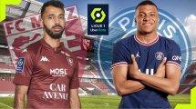 Metz-PSG : les compositions probables