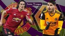 Manchester United-Wolverhampton : les compos !