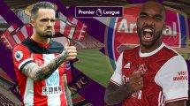 Southampton - Arsenal : les compositions officielles