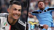 Juventus - Lazio : les compositions officielles