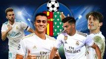 Getafe veut récupérer quatre joueurs du Real Madrid