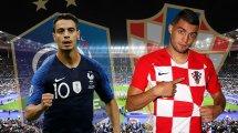 France - Croatie : les compositions officielles