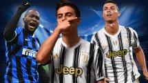 Le onze des plus gros salaires de Serie A