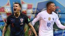 Croatie-France : les compositions officielles