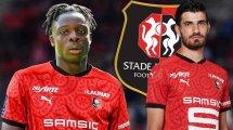Rennes : les belles promesses de Martin Terrier et Jérémy Doku