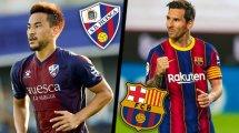 Huesca-FC Barcelone : les compositions officielles