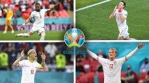 Euro 2020 : l'équipe type des 8es de finale