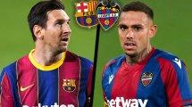 Barça-Levante : les compositions officielles !