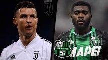 Juventus - Sassuolo : les compositions officielles