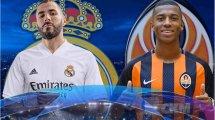Real Madrid - Shakhtar Donetsk : les compositions sont là