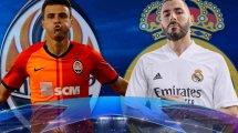 Shakhtar - Real Madrid : les compositions sont là