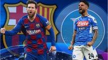 FC Barcelone - Napoli : les compositions probables