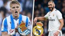 Real Sociedad - Real Madrid : les compositions sont là