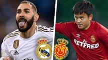 Real Madrid-Real Majorque : les compositions officielles !
