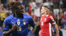 L'Italie dit merci à Moise Kean... et au PSG