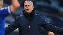 """Tottenham : José Mourinho """"déçu"""" de l'attitude de ses joueurs"""